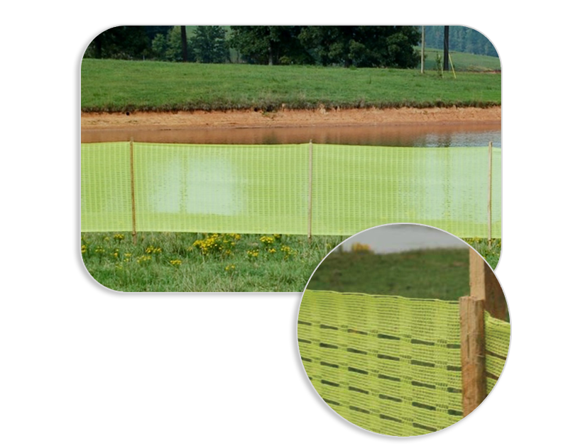 High Visibility Delineation Safety Fencing