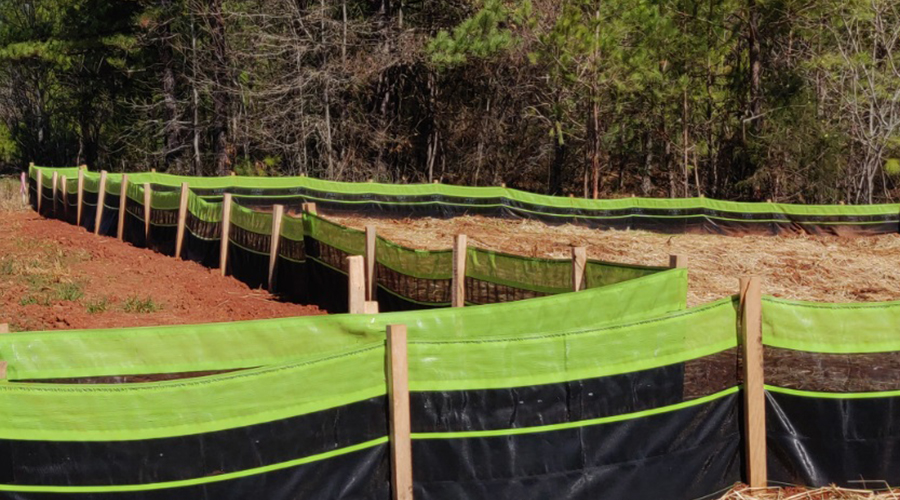 Silt Fences: WBSF 2 Stage Combo Silt Fence