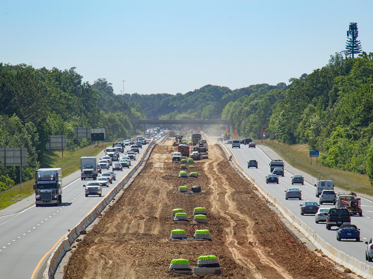 Blythe Construction I-485 Charlotte Project