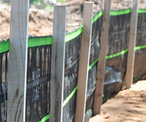 Woven Belted Silt Fence 2 Stage