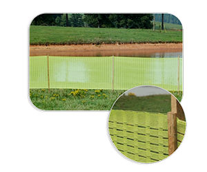 High Visibility Barrier Fencing