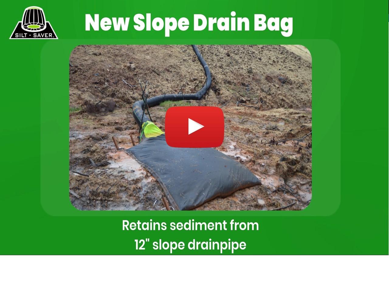 Thumb Slope Drain Bag SDB V2
